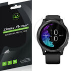 3-Pack Dmax Armor Full Coverage Clear Screen Protector for Garmin Venu