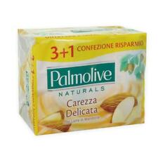 Pack of 4x Palmolive Almonds Bar Soap  Skin Care 90gr X4