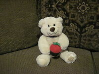 "Sweet HTF 10"" Berry Loved Bears Plush Bear w/ Chocolate Covered Strawberry (*G3)"