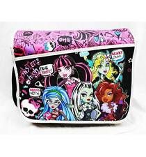 NWT Monster High Messenger Diaper Shoulder Messenger Bag  Black and Pink Newest