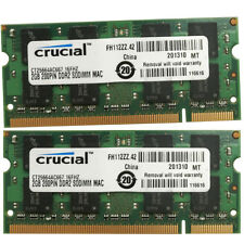 "New 4GB 2x2GB 667MHz PC2-5300 SDRAM Memory For  MacBook 13""  Early 2008  A1181"