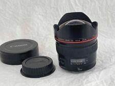 Canon 14mm f/2.8 L USM EF Lens Autofocus 14 2.8 -Excellent