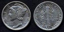 USA  Mercury Dime AG  1918 S