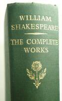 William Shakespeare - The Complete Works  Tudor Edition  Pub Collins 1964 HC VG