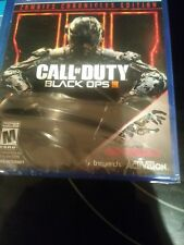 ps4 games new sealed...black ops 3 zombie edition and watchdogs 2