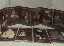 """Homespun Treasures Bears Craft Kits """"In the berry patch"""" Complete Lot of 10 New"""
