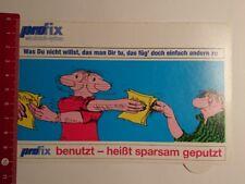 Aufkleber/Sticker: Pro fix wischtuch System (190317105)