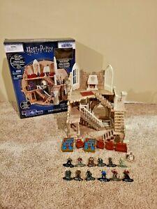 Harry Potter Nano Scene Gryffindor Tower MetalFigs Display & 12 Figures EUC