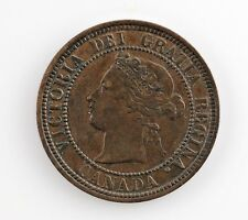 1881-H Canada 1 Cent Coin (XF) Extra Fine Condition