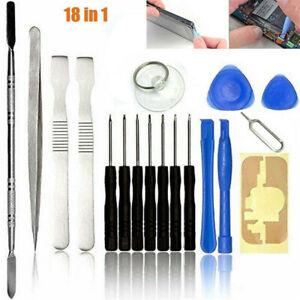 18PCS Repair Tool Kit For Samsung Apple iPhone iPad iPod Mobile Phones Repairing