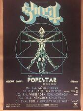 GHOST  2017  TOUR  + orig.Concert Poster --  Konzert Plakat   A1 NEU