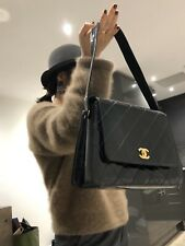 Authentic Vintage Chanel Patent Leathered Handbag