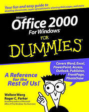 Microsoft Office 2000 for Windows For Dummies, Parker, Roger C., Wang, Wallace,