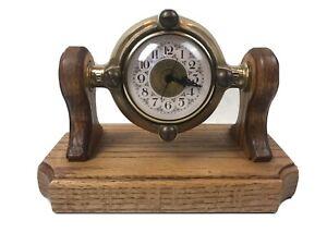 Antique Hershey Flow Meter Gauge Marine Nautical Clock Rare!