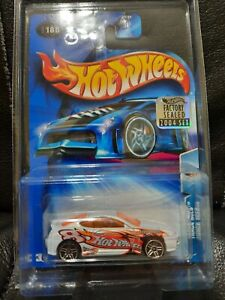 Hot Wheels 2004 Track Aces Hyundai Tiburon White Factory Sealed In Protector