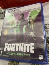 Fortnite -- The Last Laugh Bundle (Sony PlayStation 5, 2020) FACTORY SEALED!!!