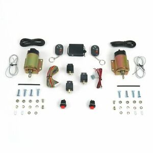 4 Function 35lbs Remote Shaved Door Popper Kit AutoLoc AUTSVPRO34 street rat