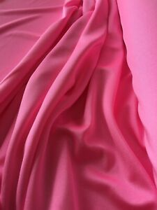 "1m Neon Pink Elastane. 60"" Width Four-Way Stretch"
