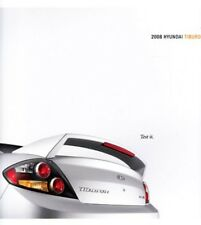 2008 08  Hyundai Tiburon  original sales brochure MINT