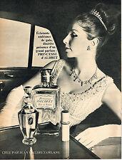 PUBLICITE  1966   JEAN D'ALBRET  parfum  PRINCESSE