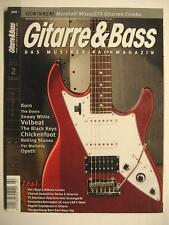 GITARRE & BASS 2012 # 2 - THE DOORS SNOWY WHITE VOLBEAT BLACK KEYS ROLLING STONE