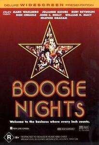 Boogie Nights DVD (Pal, 1998) Free Post