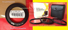 TO CAMERA FUJI FINEPIX S8300 S8400 S8500 ADAPTER RING +UV+ CPL+ FLD 58mm