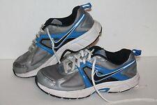 NikeDart 9 Running Shoes, #443396-008, Slvr/Glue/Blk, Youth Size 5.5 Y