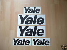 YALE FORKLIFT TRUCK STICKERS DECAL SET SPARE PARTS