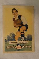St.Kilda - 1958 - Vintage - Atlantic Football Card - Harold Davies.