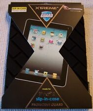 Xtreme Guard for iPad2 slip-in-case Protective Guard BLACK - NWT