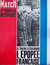 PARIS MATCH Tabarly Caron France Gall Liberation