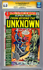 FROM BEYOND THE UNKNOWN #8 CGC-SS 6.0 SIGNED BY NEAL ADAMS & DENNY O'NEIL 1970