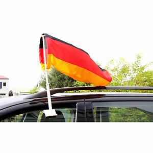 Autofahne Windhose Windsack Luftsack Fußball WM 2018 Deutschland Fahne Flagge
