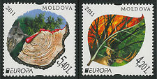 """Moldova 2011 CEPT Europa """"Forests"""" 2 MNH stamps"""