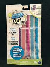 """Text Cool Bracelet Kit"" Brand New, Free Shipping"
