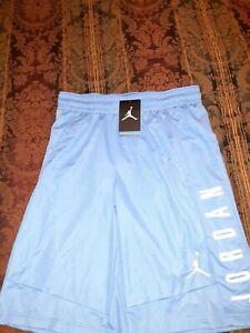 Jordan Jumpman Carolina Blue Basketball Shorts Men's Size Medium 899375-412 NWT