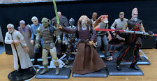 Star Wars 'Lot Of 12' Loose Action Figure Most Without Weapons See Pictures