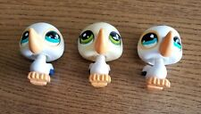 HASBRO LITTLEST PET SHOP LPS LOT OF 3 PELICAN PETS - PRE OWNED