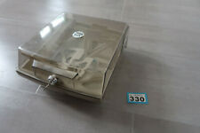 """80 3.5"""" Floppy Disk Storage container with dividers Amiga Atari st PC"""