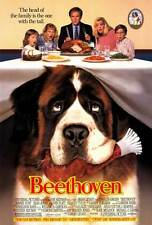 BEETHOVEN Movie POSTER 27x40 Charles Grodin Bonnie Hunt Dean Jones Oliver Platt
