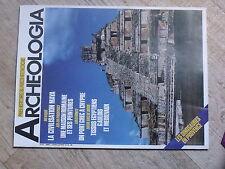 $$a Revue Archeologia N°215 Civilisation Maya  Maison romaine  Amathonte