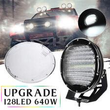 9 Inch Round Work Light LED Spotlight Flood Offroad Driving Light Headlight Car