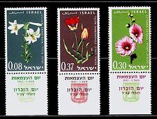 ISRAEL 1963 234/6 Flores 3v.