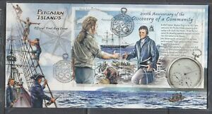 Pitcairn Is. Scott 680 FDC - Discovery of a Community