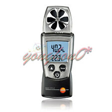 Digital Vane Anemometer Air Speed Temperature Humidity Meter Tester Testo 410-2