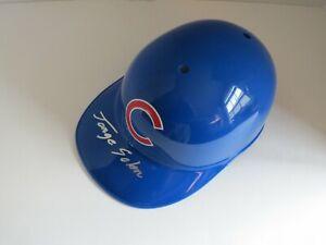 Jorge Soler Autographed Chicago Cub Souvenir Full Helmet
