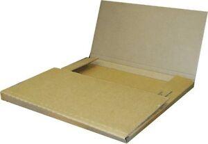 25 Economy Variable Depth Kraft LP Record Album Mailer Boxes - NEW ITEM!