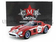 CMR Ferrari 250 GTO No .25 24H Le Mans 1964 T.Maggs et I.Ireland Echelle 1:18 Voiture Miniature en Résine - Rouge (CMR076)
