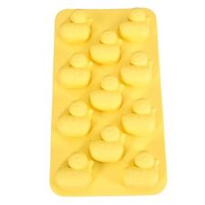 Yellow Ducky duck Baby Mold Silicone Ice Cube Tray Design Cake Clay TPR Fondont